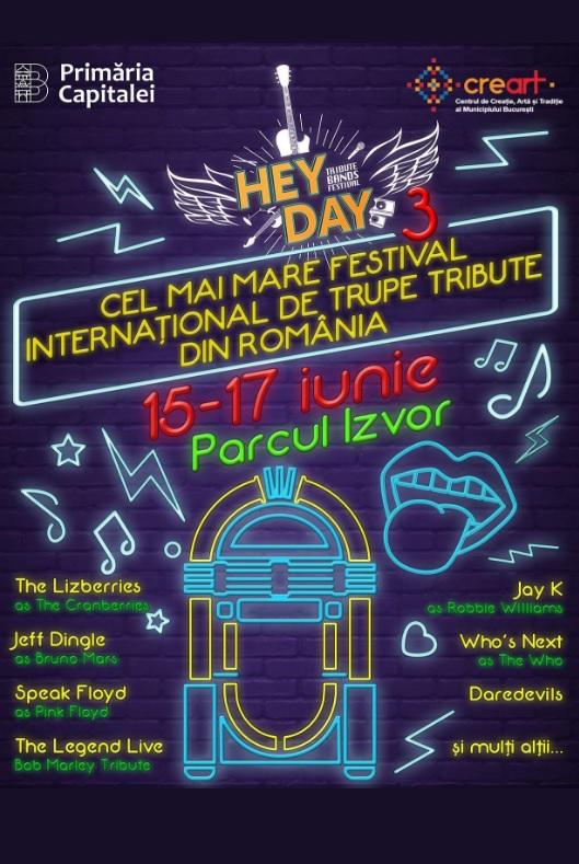 HeyDay Festival 2018 la Parcul Izvor