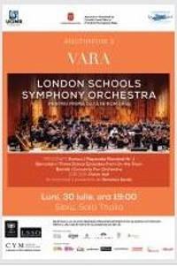 London Schools Symphony Orchestra la Filarmonica de Stat Sibiu - Sala Thalia
