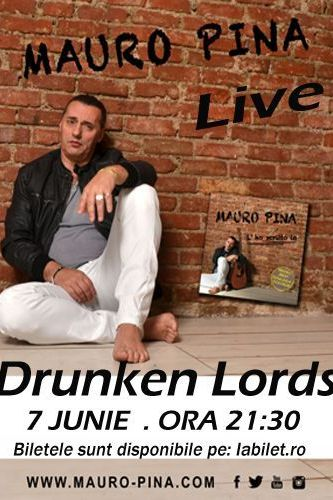Mauro Pina la The Drunken Lords
