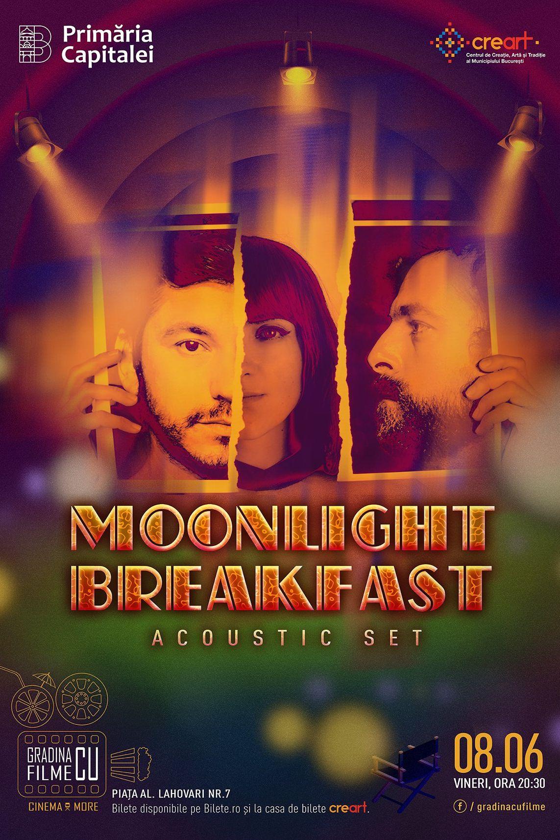 Moonlight Breakfast - SOLD OUT la Grădina cu filme