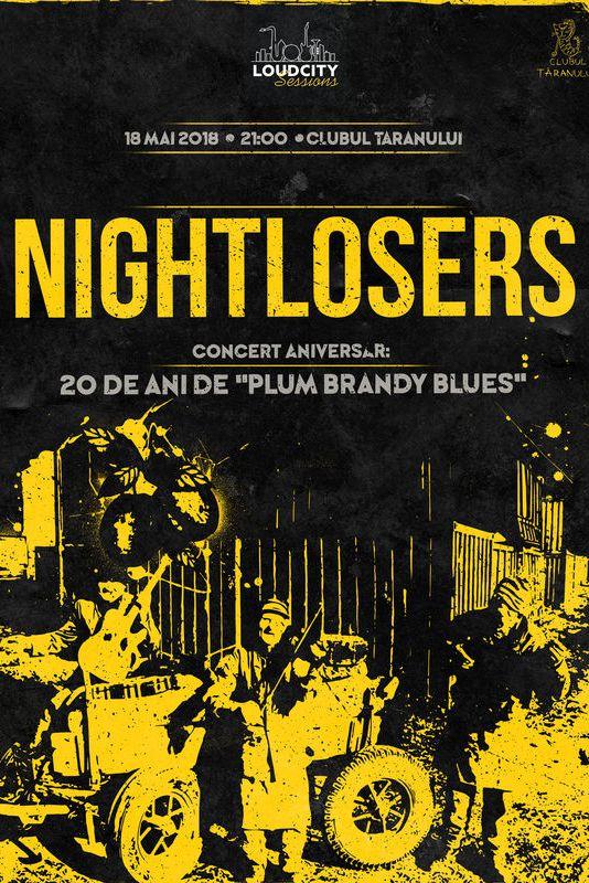 Nightlosers la Clubul Țăranului Român