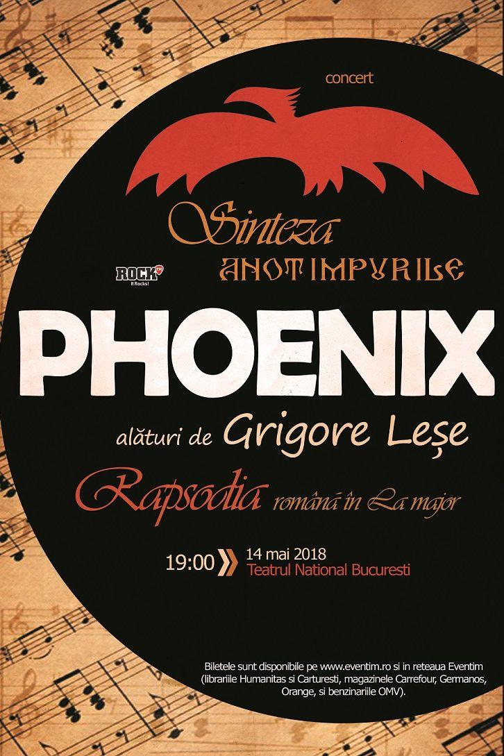 Phoenix & Grigore Leșe la Teatrul Naţional București