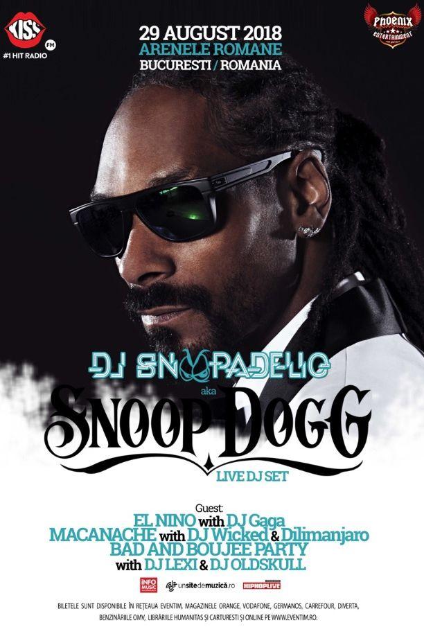 Snoop Dogg la Arenele Romane
