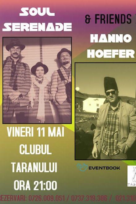 Soul Serenade & Hanno Hoefer la Clubul Țăranului Român