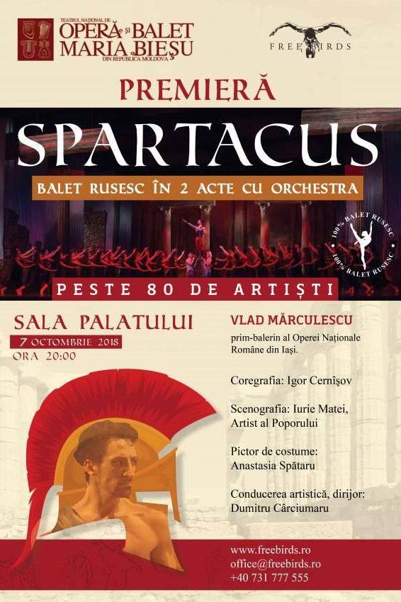 Spartacus la Sala Palatului