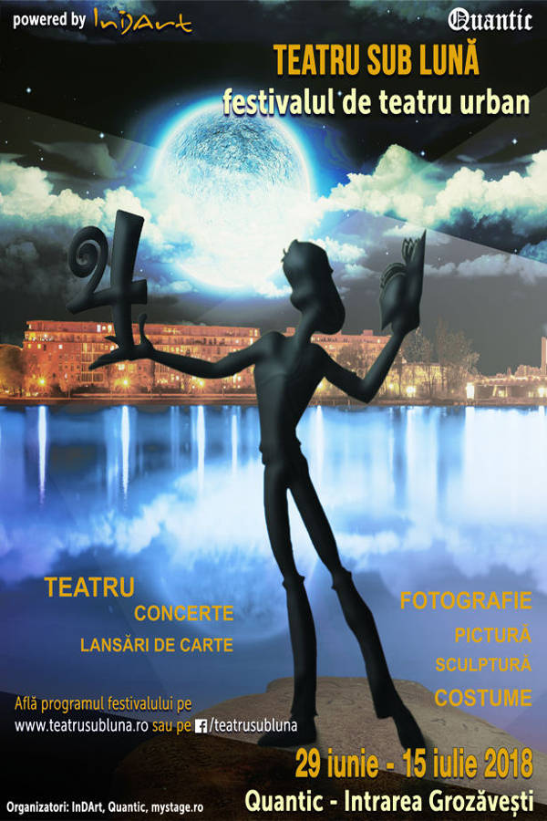 Teatru sub Lună la Quantic Club