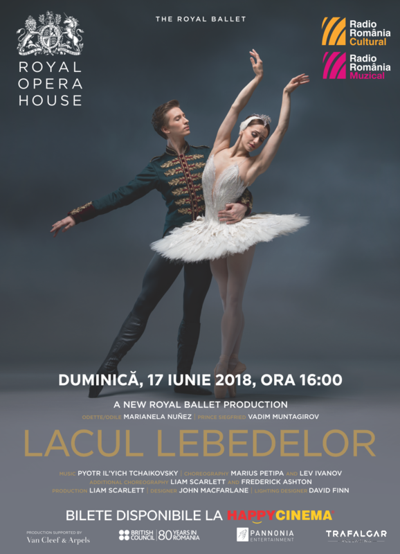 The Royal Ballet - Lacul Lebedelor la Happy Cinema