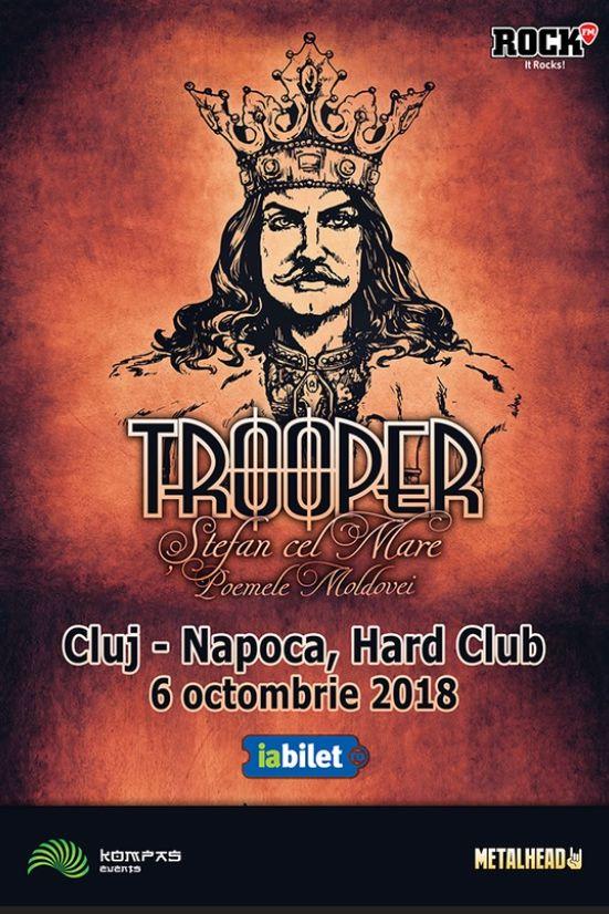 Trooper la Hard Club Cluj