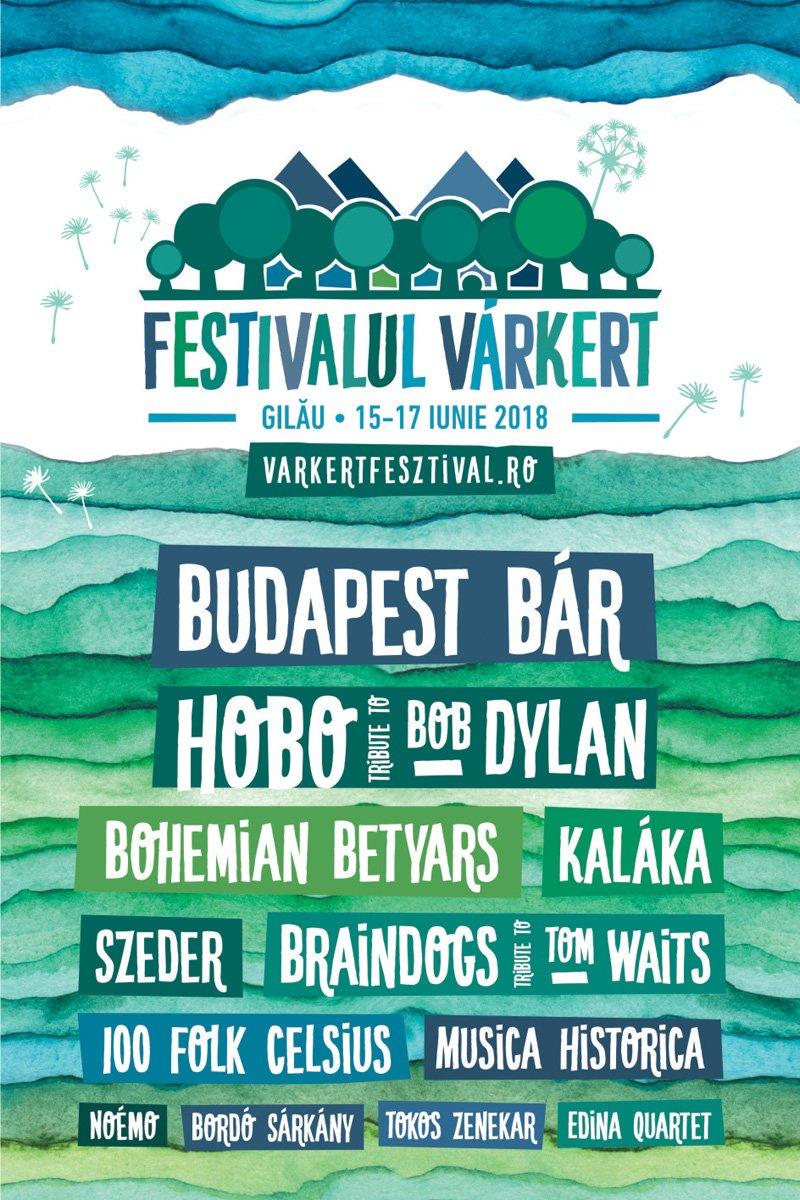 Festivalul Várkert la Castelul Gilău