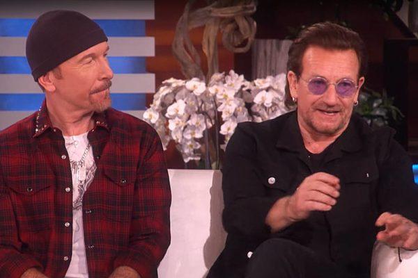 Bono și The Edge la Ellen