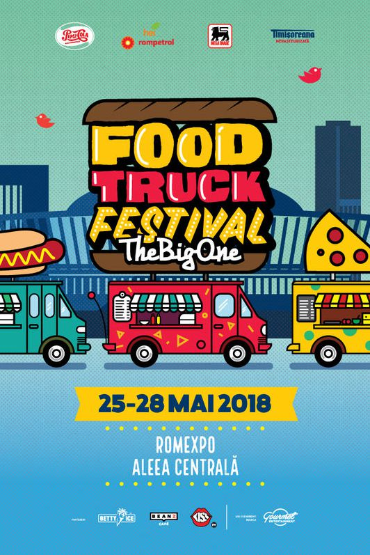 Bucharest Food Truck Festival 2018 la Romexpo