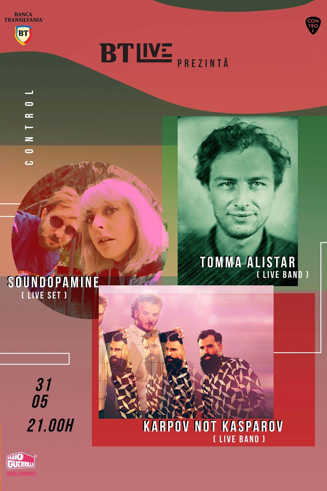 Karpov not Kasparov/ Tomma Alistar/ Soundopamine la Club Control
