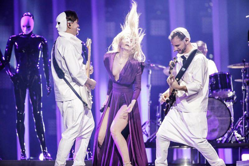 The Humans la prima repetiție a show-ului pentru Eurovision pe Altice Arena din Lisabona