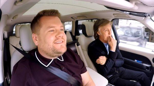 Carpool Karaoke James Corden Paul McCartney