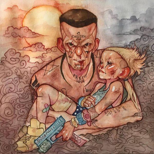Coperta album Die Antwoord 27