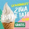 Pe 25 iunie e Ziua Înghețatei, cel mai așteptat eveniment al verii la McDonald's ℗