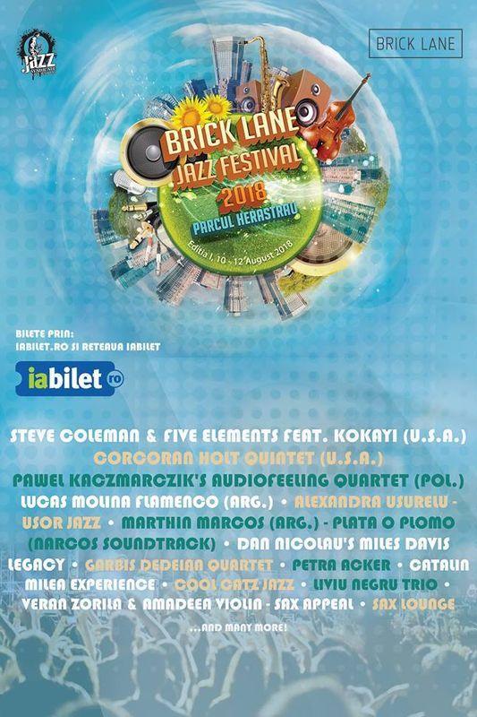 Brick Lane Jazz Festival la Parcul Herăstrău