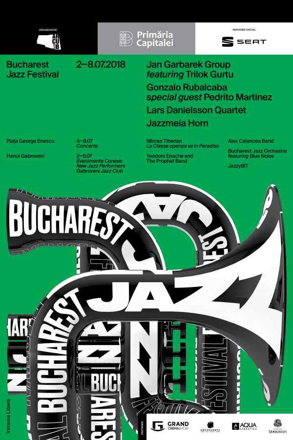 Bucharest Jazz Festival 2018 la Piața George Enescu
