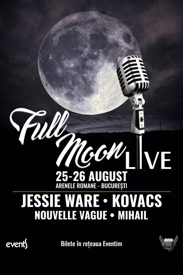 Full Moon Festival 2018 la Arenele Romane