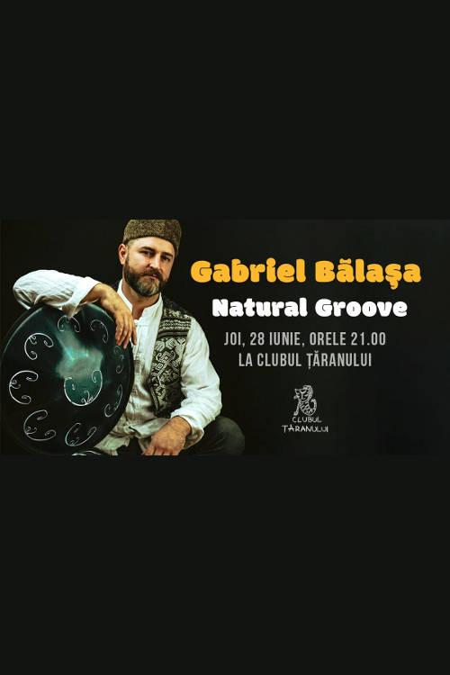 Gabriel Bălașa la Clubul Țăranului Român