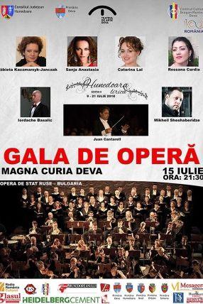 Gala de Operă la Magna Curia (Deva)
