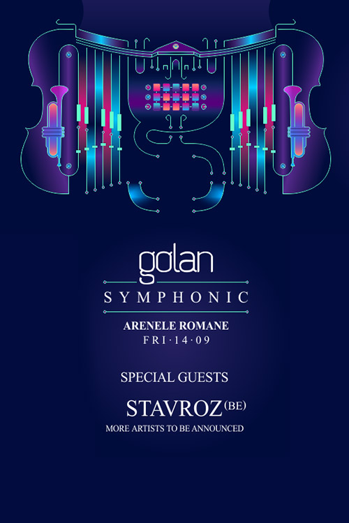 Golan Symphonic 3.0 la Arenele Romane