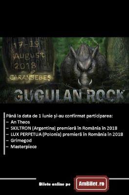 Gugulan Rock Open Air Festival 2018 la Caransebeș