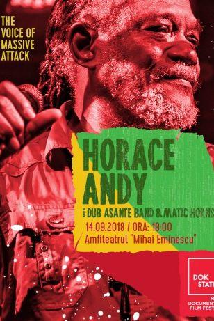 ANULAT - Horace Andy la Teatrul de Vară Mihai Eminescu