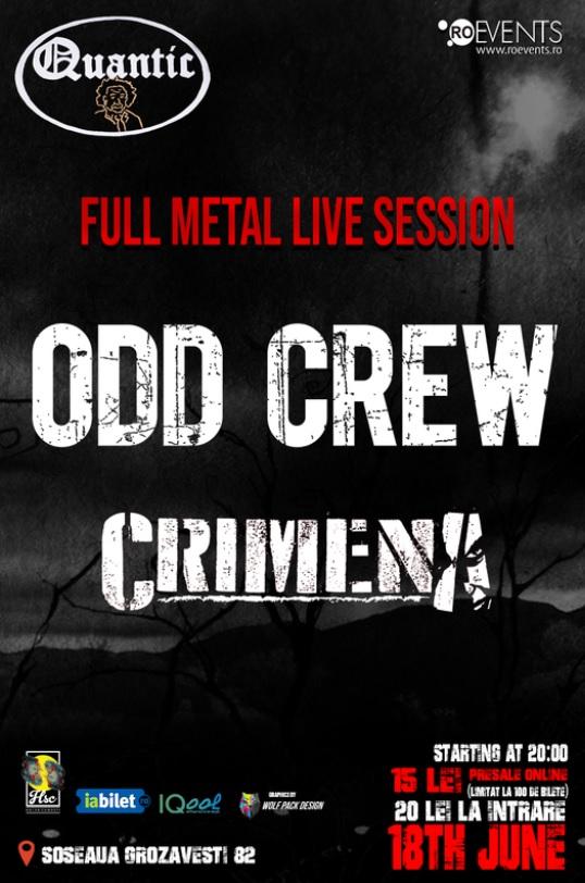 Odd Crew / Crimena la Quantic Club