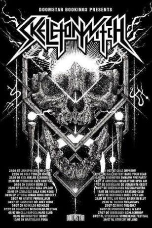 Skeletonwitch la Hard Club Cluj