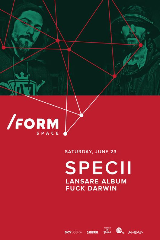 Specii la Form Space Club