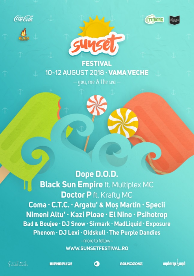 Sunset Festival 2018 la Vama Veche