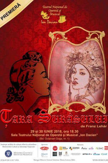Țara surâsului la Teatrul Național de Operetă și Musical