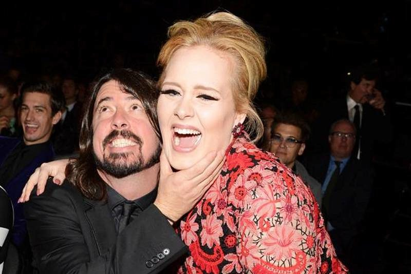 Dave Grohl & Adele