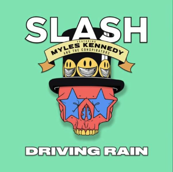 Single Slash Myles Kennedy Conspirators Driving Rain