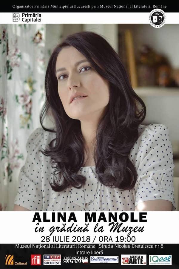 Alina Manole la Muzeul Național al Literaturii Române