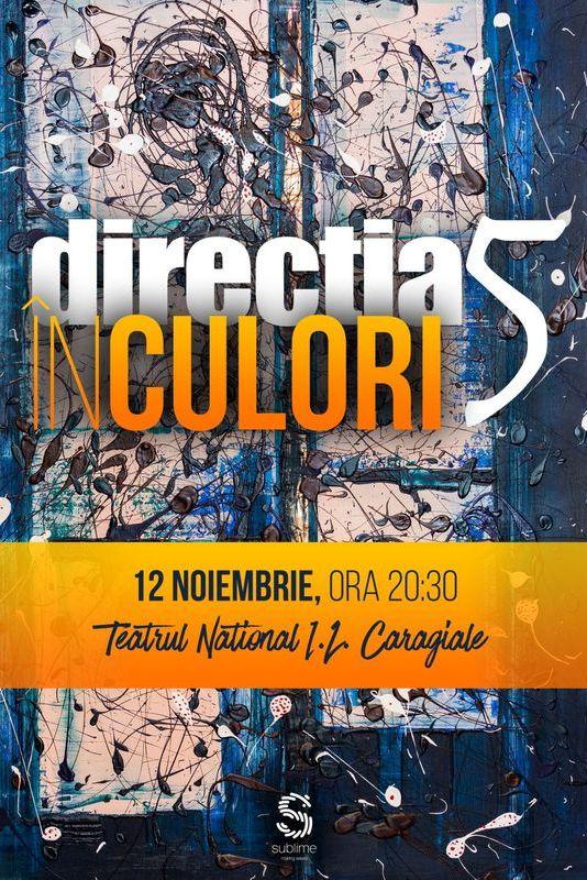 Direcția 5 - În culori la Teatrul Naţional București