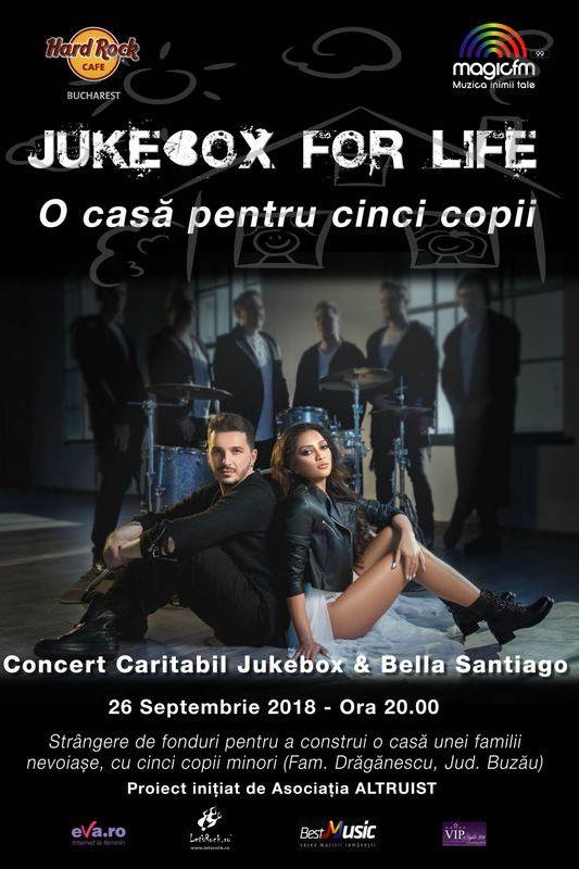 Jukebox & Bella Santiago la Hard Rock Cafe