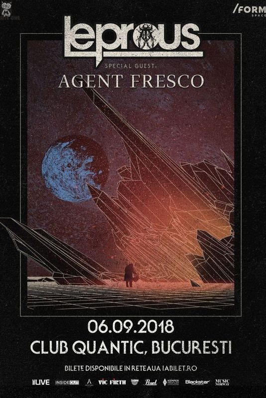 Leprous / Agent Fresco la Quantic Club