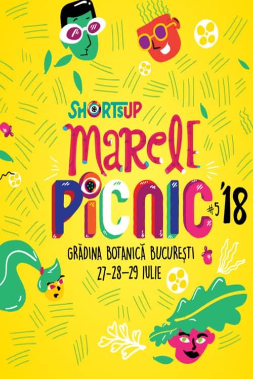 Marele Picnic ShortsUP 2018 la Grădina Botanică București