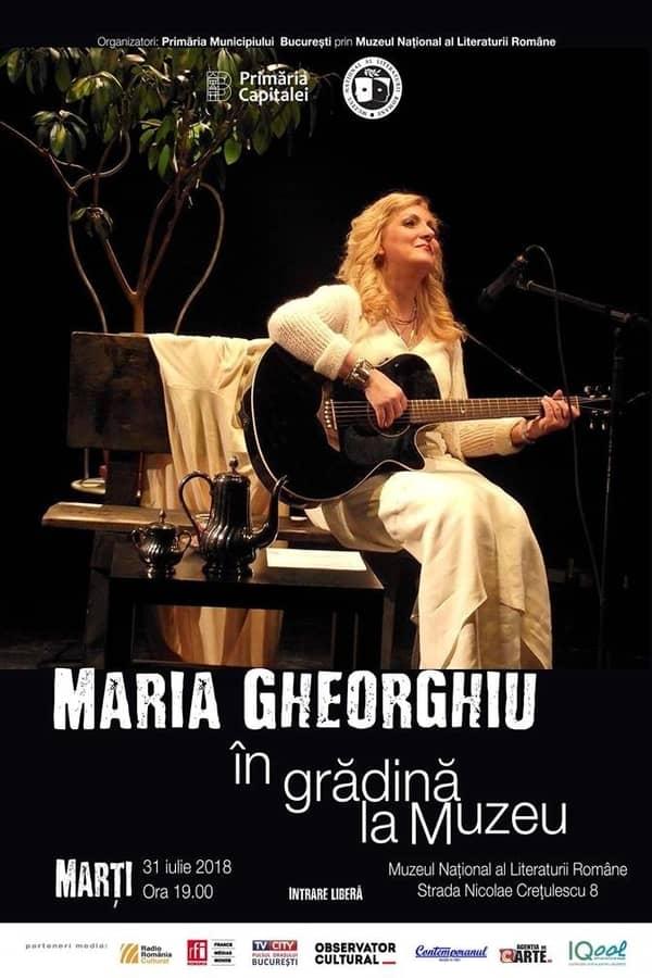 Maria Gheorghiu la Muzeul Național al Literaturii Române
