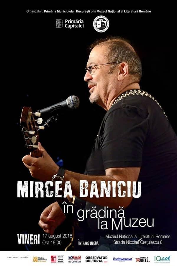 Mircea Baniciu la Muzeul Național al Literaturii Române