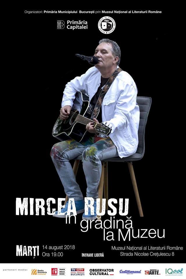 Mircea Rusu la Muzeul Național al Literaturii Române