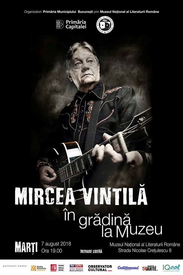 Mircea Vintilă la Muzeul Național al Literaturii Române