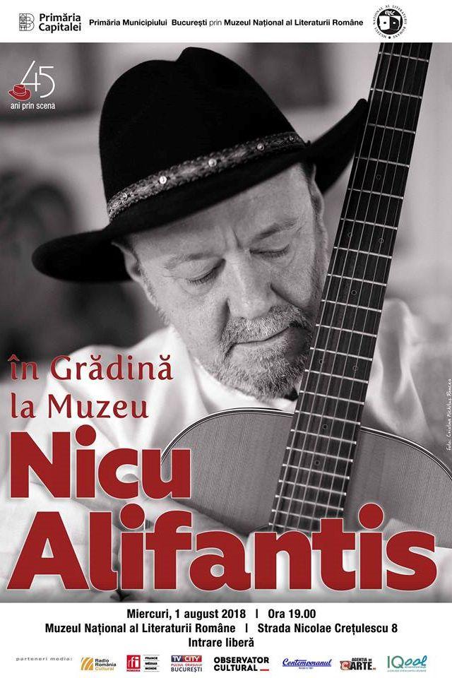 Nicu Alifantis la Muzeul Național al Literaturii Române