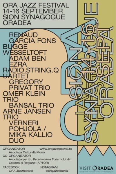 Poster eveniment ORA Jazz Festival 2018