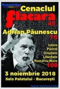Remember Cenaclul Flacăra 2018 la Sala Palatului