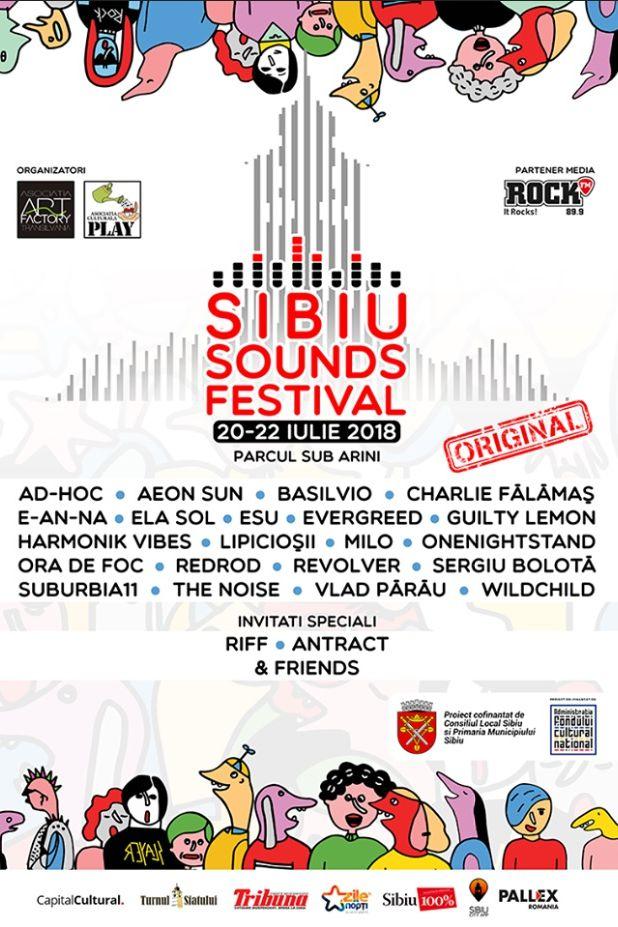 Sibiu Sounds Festival 2018 la Parcul Sub Arini