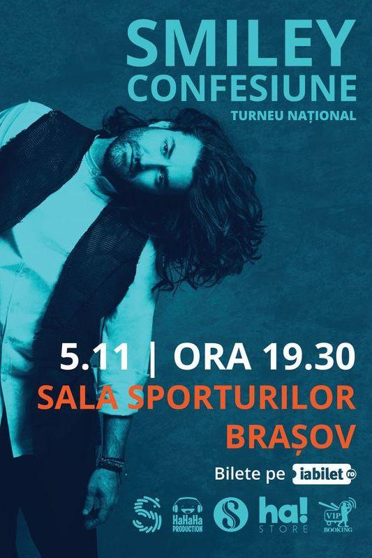 Smiley la Sala Sporturilor Brașov