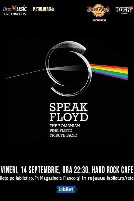 Speak Floyd - tribut Pink Floyd la Hard Rock Cafe